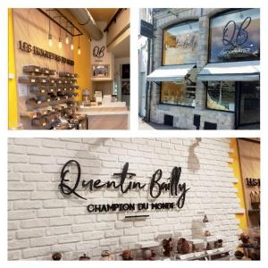 Enseigne Chocolaterie Quentin Bailly